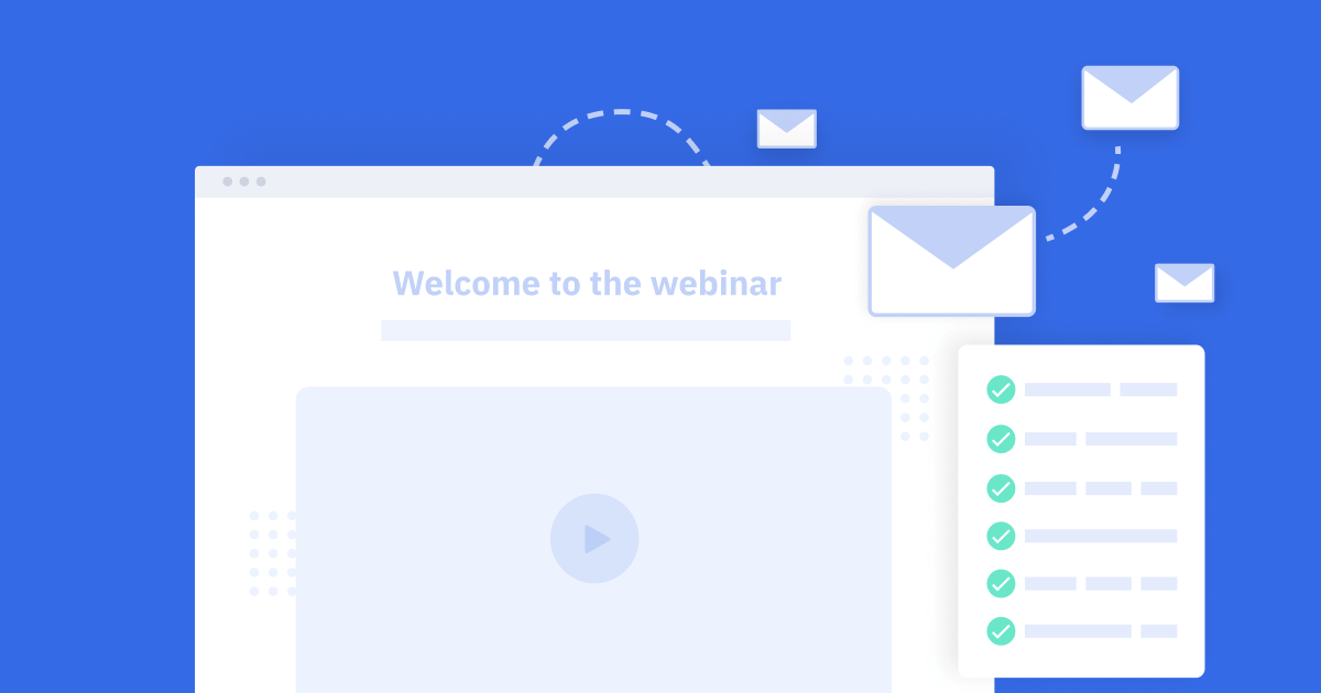 Webinar templates and checklist workflow and process