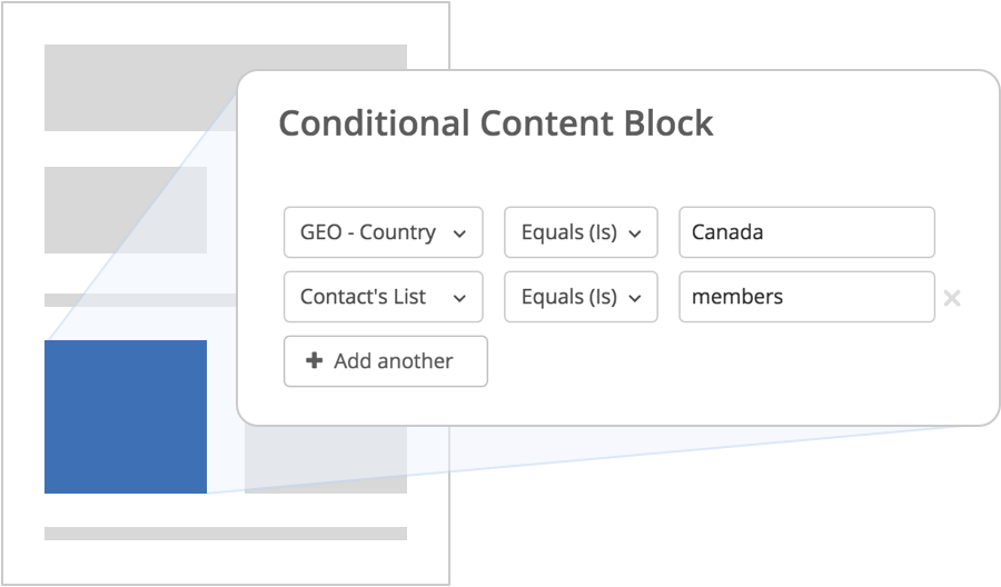 Dynamic Content for Email Marketing