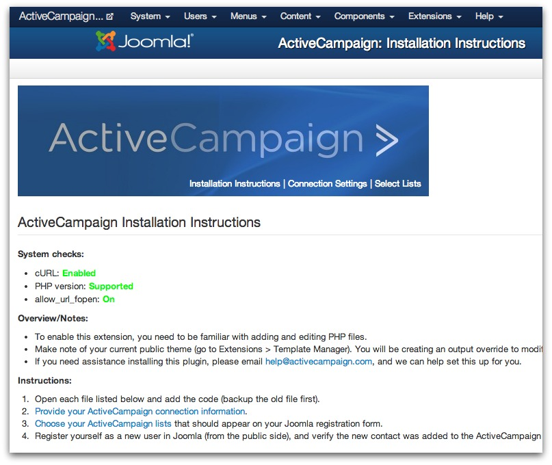 how to get started with joomla